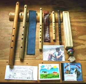 Erik the Flutmaker – eine Flöten-Lehrstunde