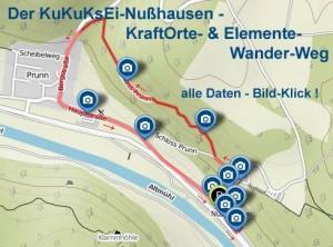 Der KuKuKsEi-Nußhausen KraftOrte-Wanderweg