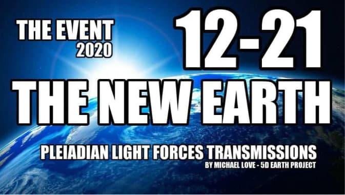 der KOSMISCHE EVENT 21.12.2020